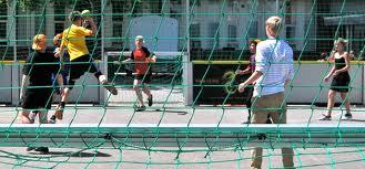 Handball on the streets