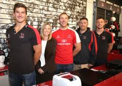 Ulster Rugby Extends with Kukri
