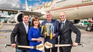 Etihad Airways to Screen the GAA Hurling All Ireland Senior Championship Final Live