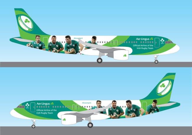 ** IRFU Flying High with Aer Lingus **