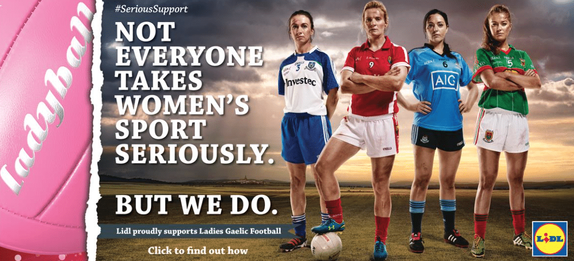 Ladyball Revealed as Lidl Campaign