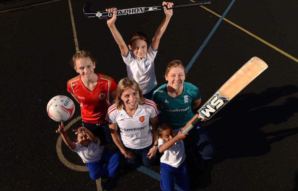 Teaming Up for Women's Sport