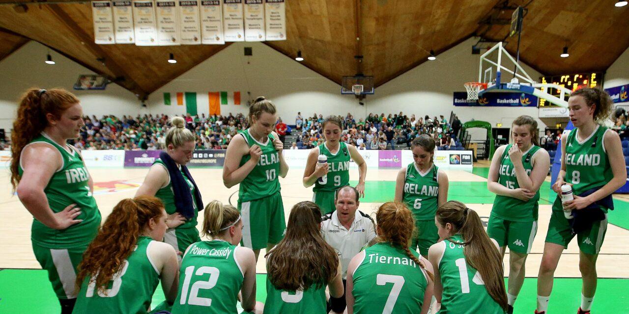 Basketball Ireland Shuts Down International Season for 2020