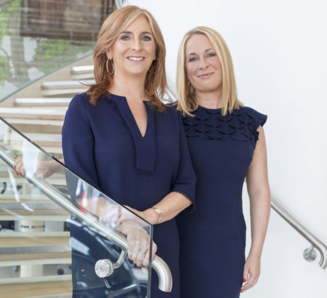 50 Women of Influence – Lisa Browne and Edel McCarthy