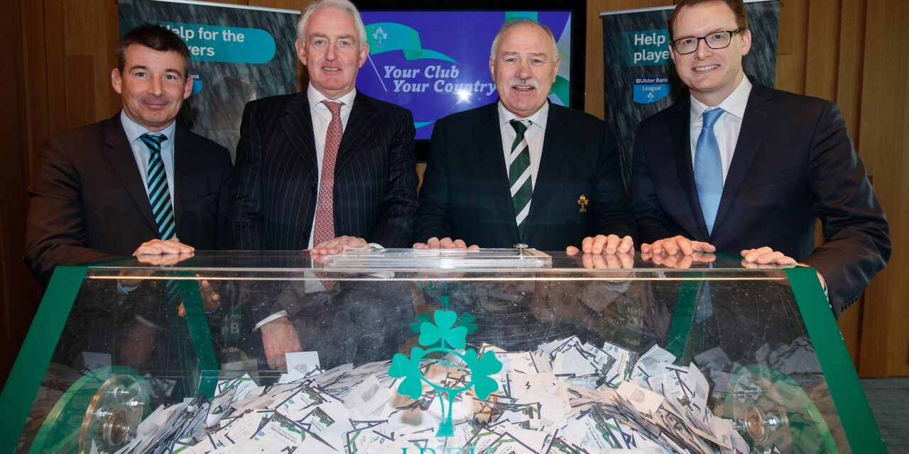 Rugby Clubs Draw Hits €4 Million Fundraising