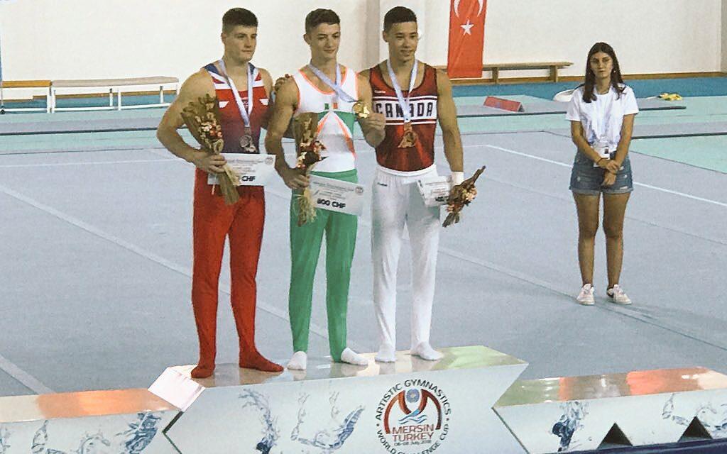 Irish Gymnast Strikes Gold at World Cup