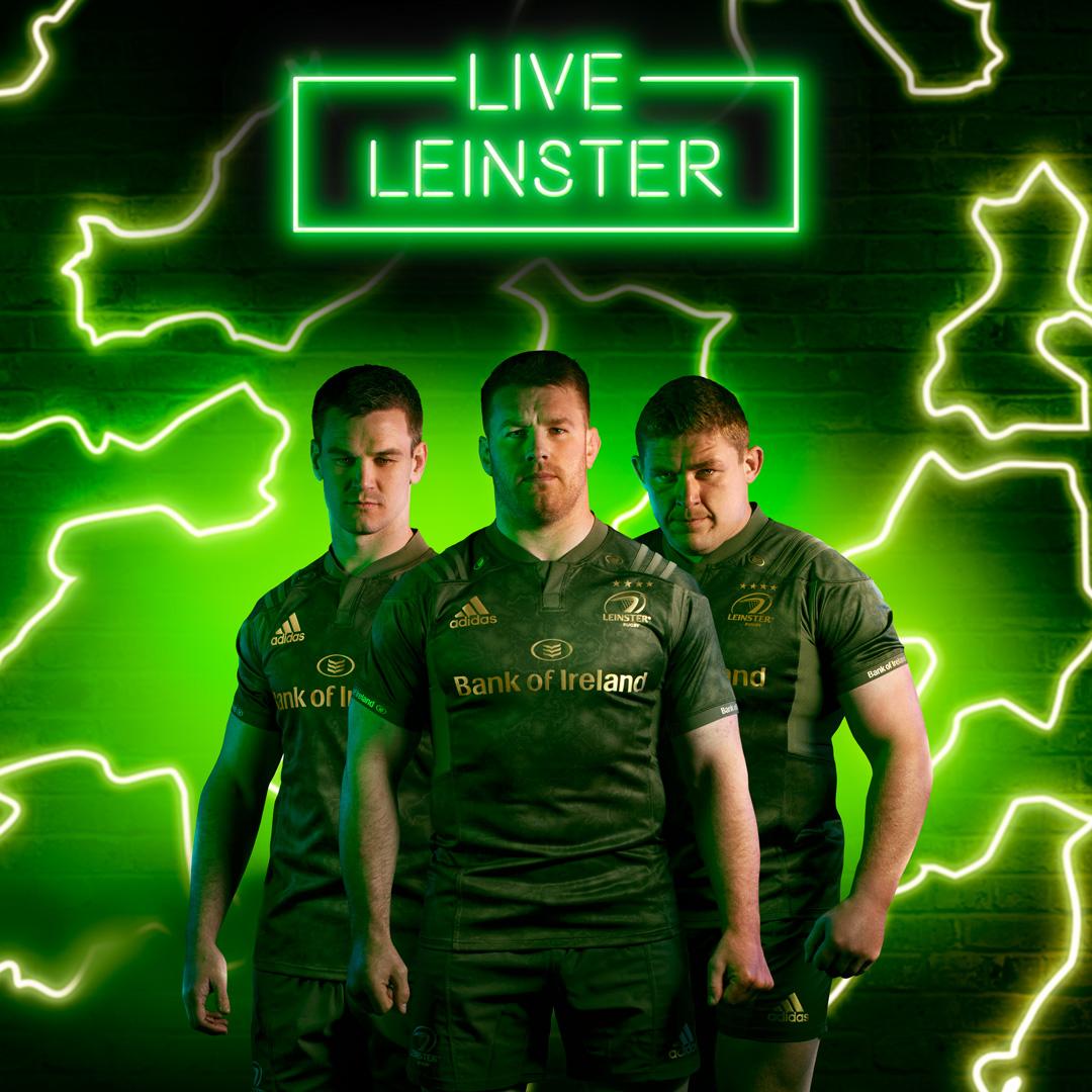 Ventana mundial equilibrar A bordo  Leinster Unveil Blue and Green Adidas Kits - Sport for Business