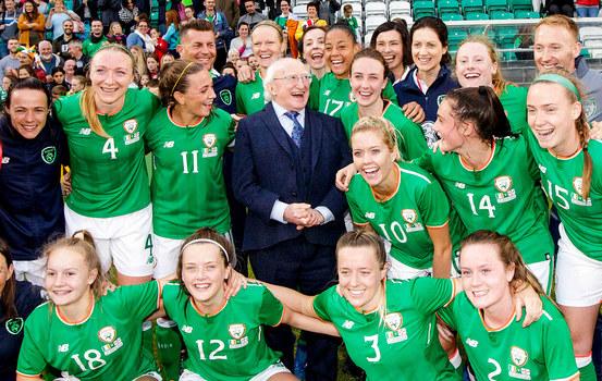 RTÉ Backing Women's Football