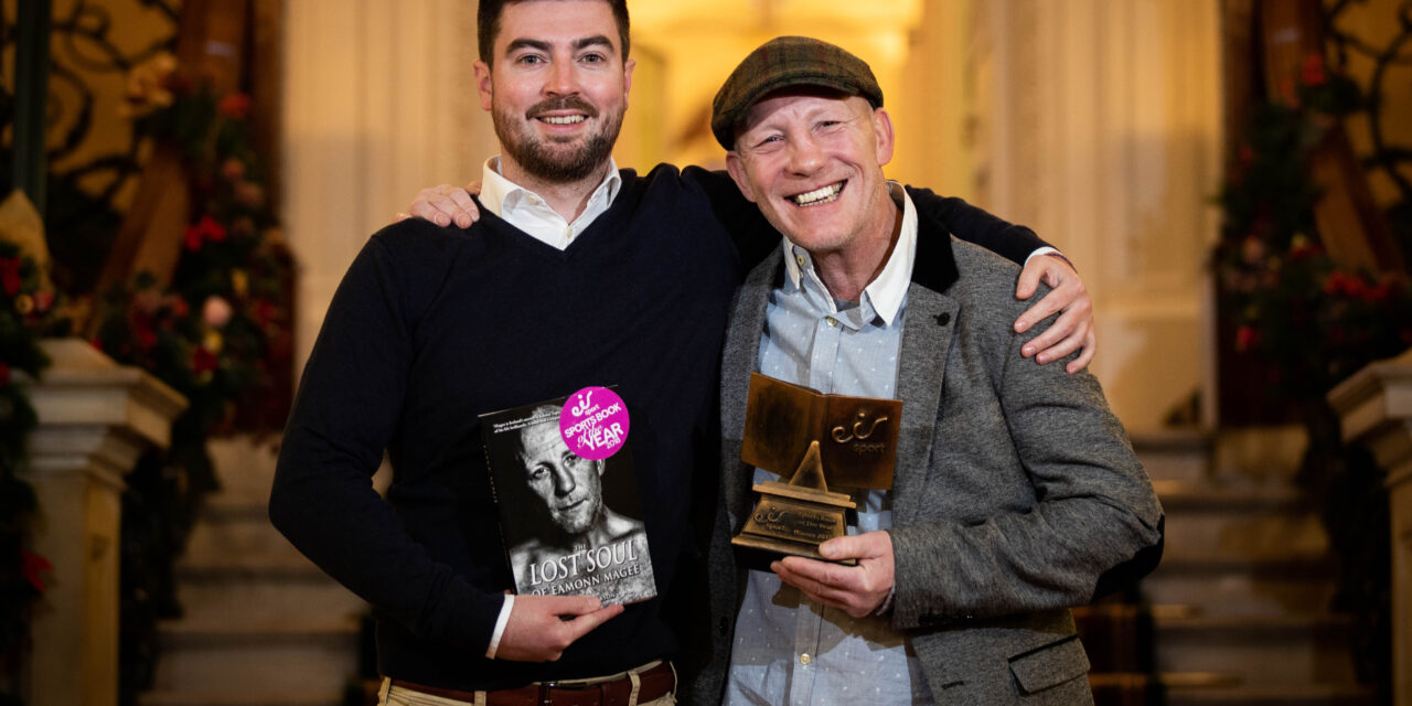 Boxing Back Story Wins Book of Year