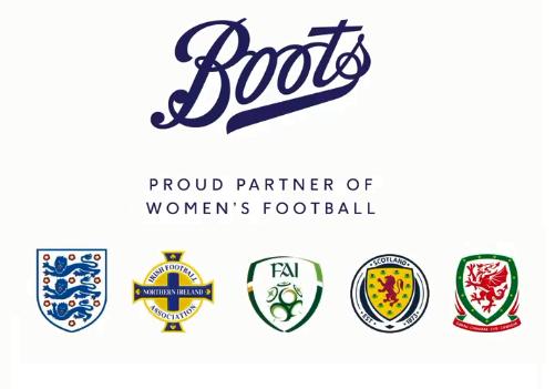 Boots Backing Women's Football