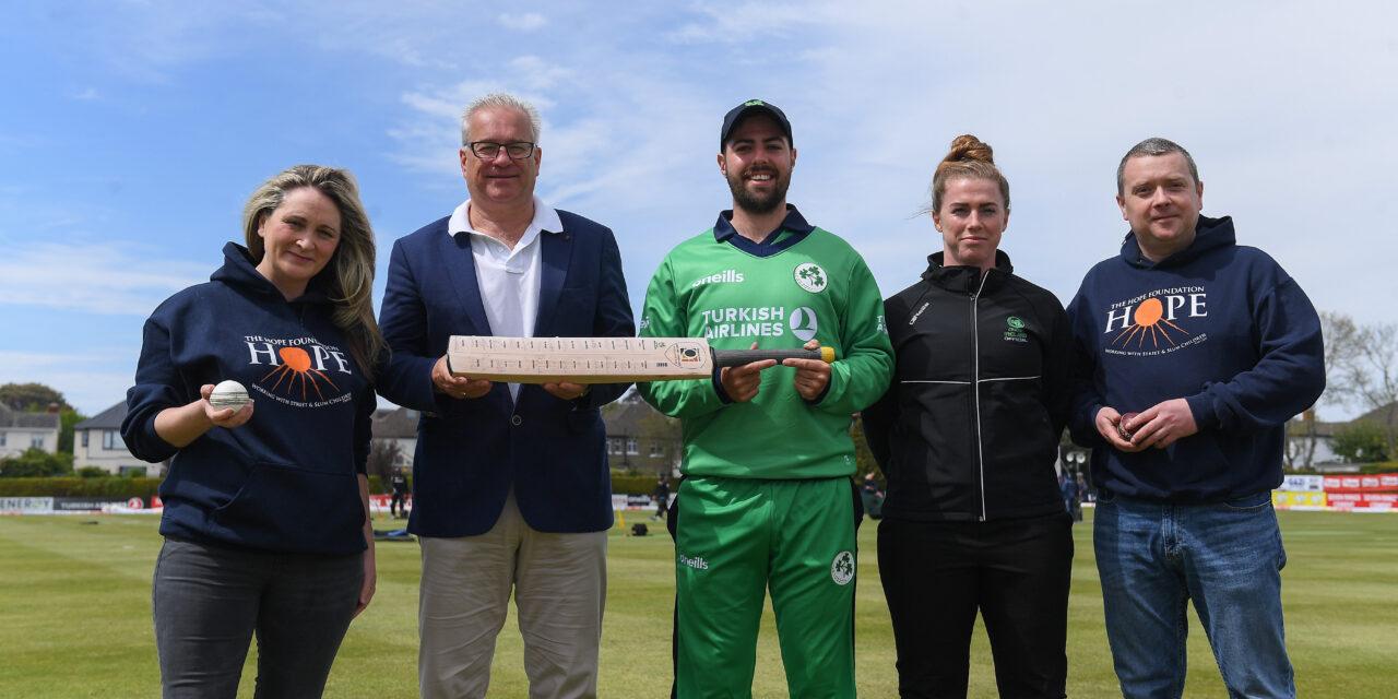 Cricket Ireland Supporting Hope Foundation