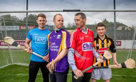 Hurling Stars Lining Out Against Cancer