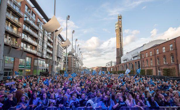 Freeman Gavin as Dublin Celebrations Continue