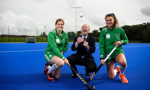 State of Art Hockey Pitch Opened at Sport Ireland Campus