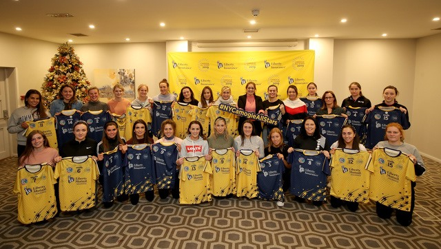 Camogie Stars Take to Skies and NYC and Liberty