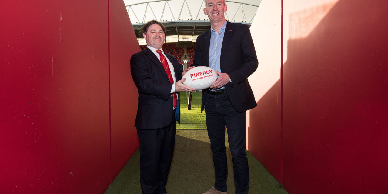 Pinergy Extends with Munster rugby