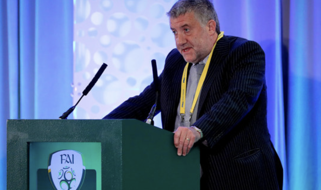 Cooke Steps up to Government Frowns at FAI