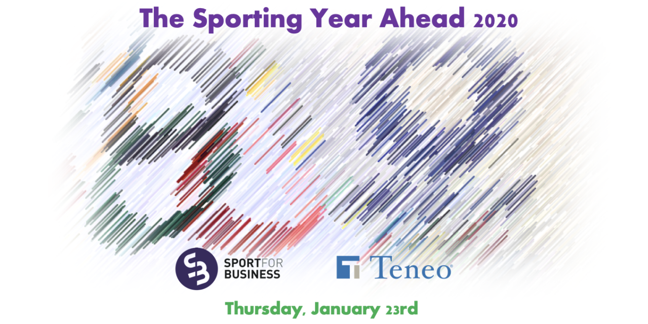 Three New Speakers for The Sporting Year Ahead