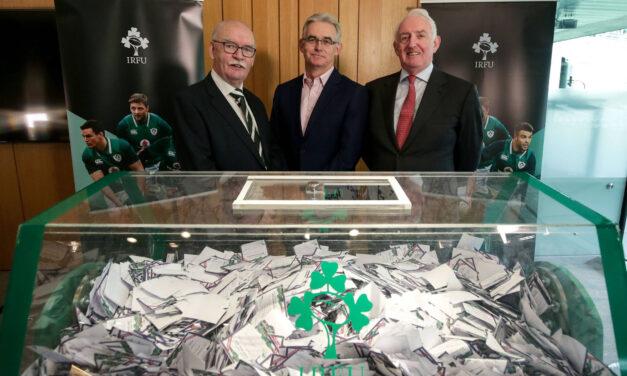 Rugby Club Draw Raise €640,000