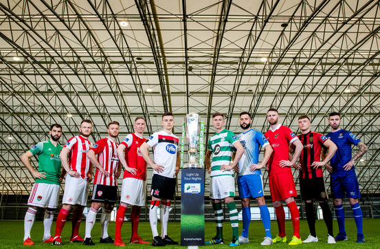 Sponsors of the Ten SSE Airtricity Premier League Clubs in Focus