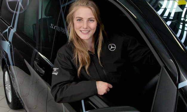 Mercedes Backing for Olympic Hopeful