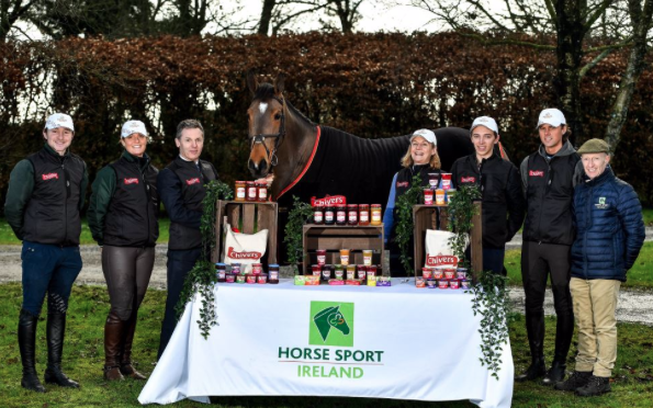 New Sponsors for Irish Eventing Team