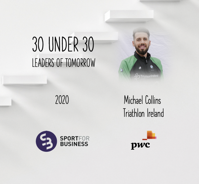 Sport for Business 30 Under 30 – Michael Collins