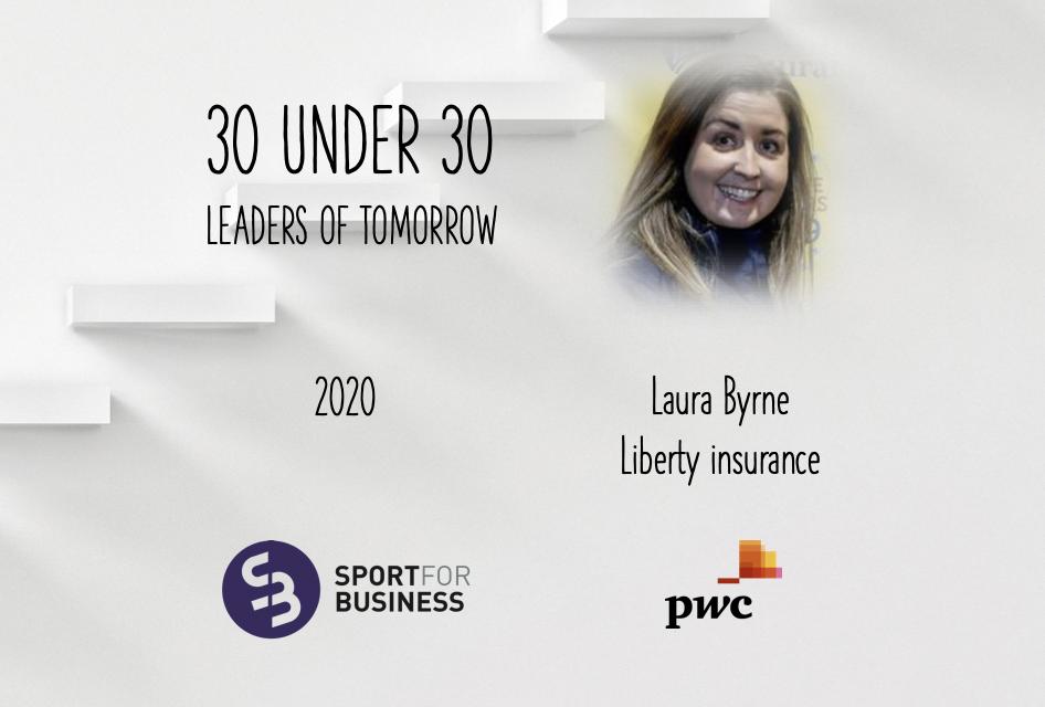 Sport for Business 30 under 30 – Laura Byrne