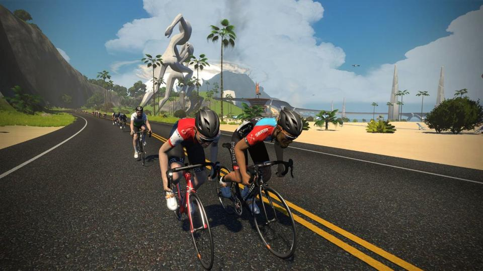 Cycling Zwift League Returns to Homes
