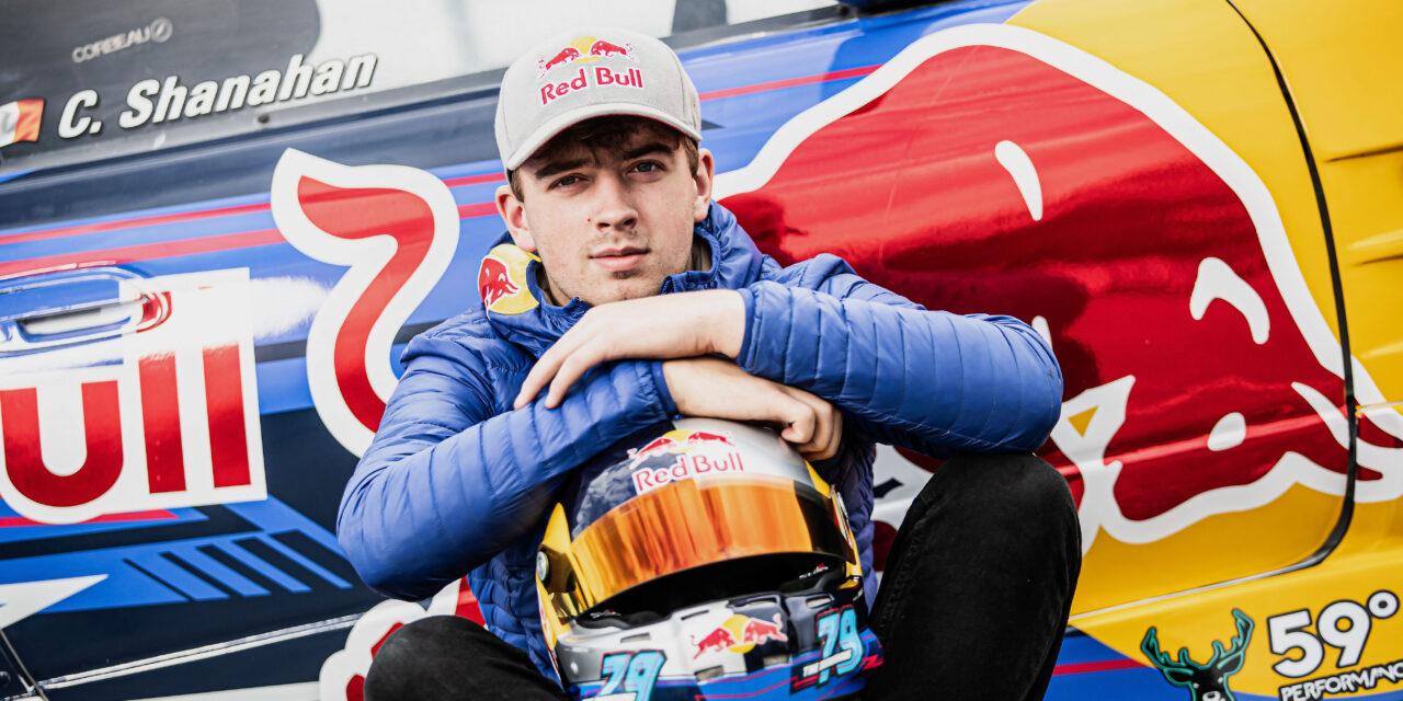 Red Bull Backing for Drifter Shanahan