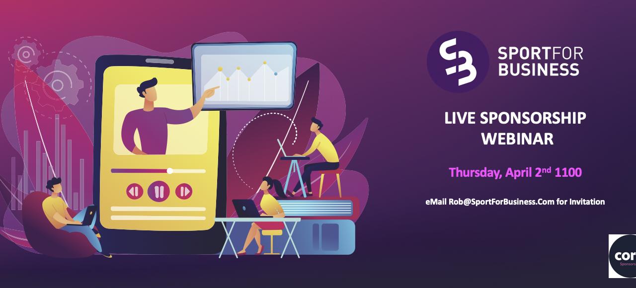 Second Live Webinar on Sponsorship This Morning
