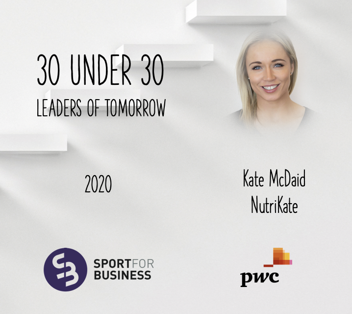 Sport for Business 30 Under 30 – Kate McDaid