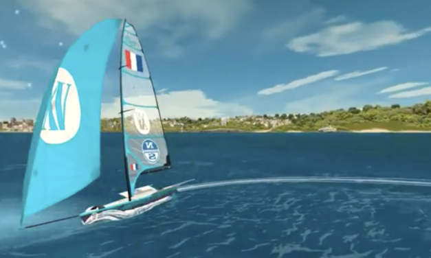Olympians take to eSailing Virtual Waters