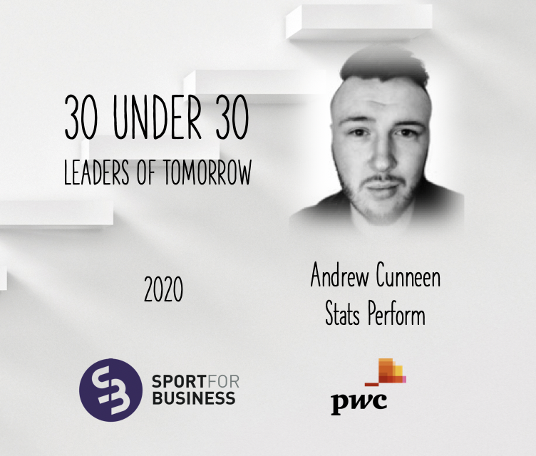 Sport for Business 30 Under 30 – Andrew Cunneen