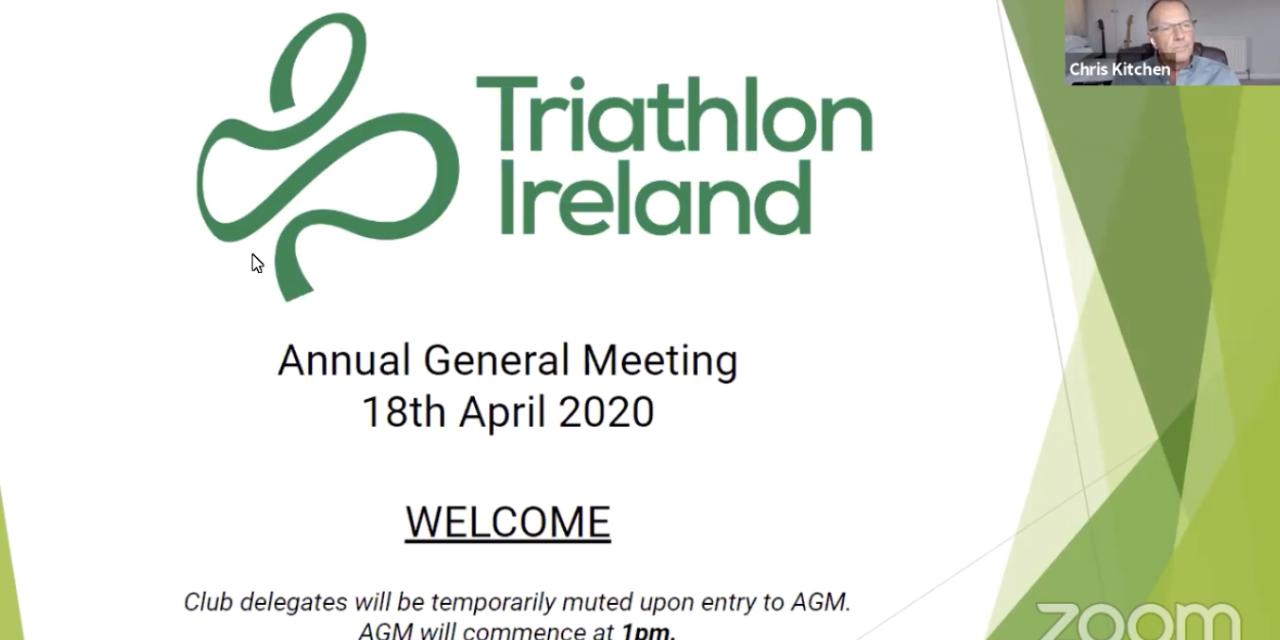 Triathlon Ireland Hosts First Virtual AGM