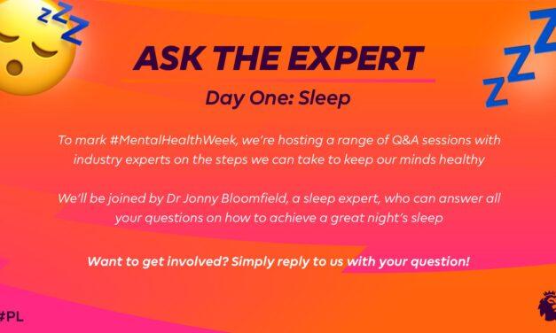 Tune In – Sleep Q&A and Wellbeing Webinar