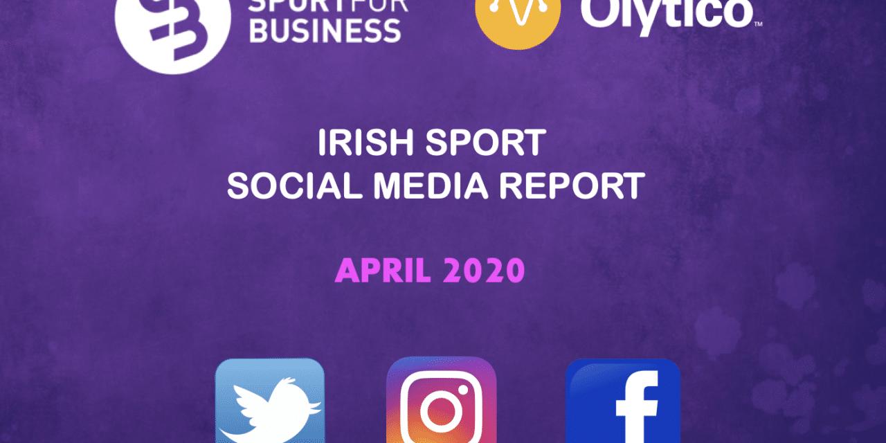 Irish Sport Social Media Report – April 2020