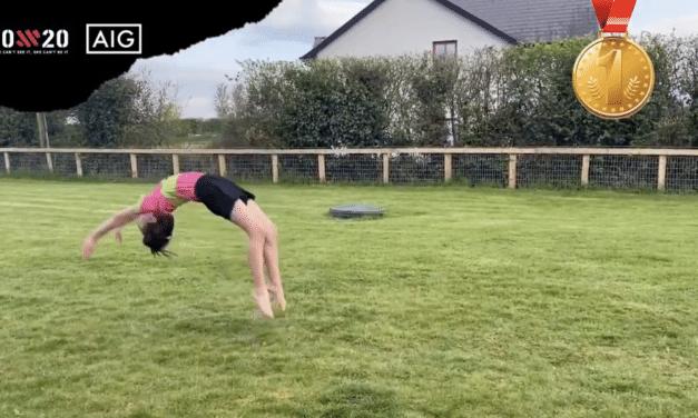 AIG April Winner a Gymnast of Some Skill