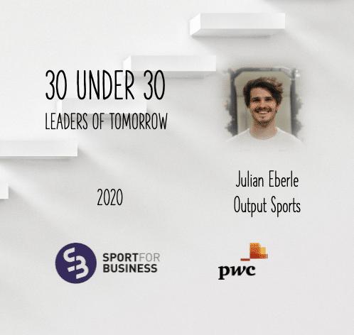 Sport for Business 30 under 30 – Julian Eberle