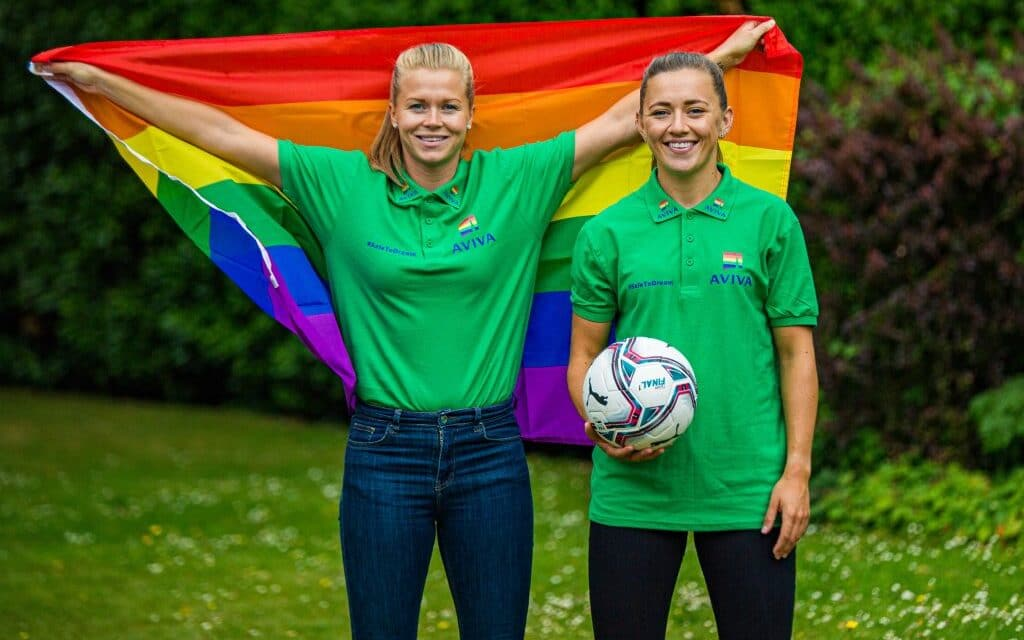 Katie McCabe Kicks Off Inclusivity Series from Sporting Pride