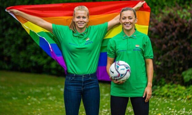 Aviva Stadium Lighting Up for Pride