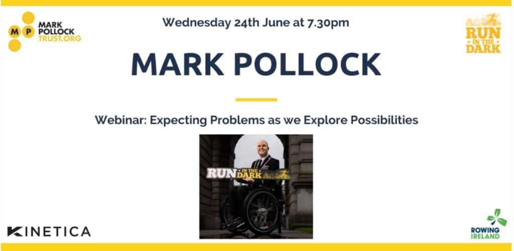 Pollock to Inspire Rowing Ireland Webinar