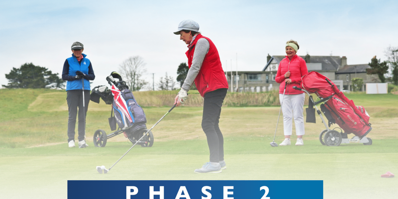 Golf Issues Changes to Protocol Ahead of Phase 2