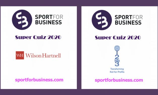 Sport for Business Super Quiz – Wilson Hartnell Vs 2Into3