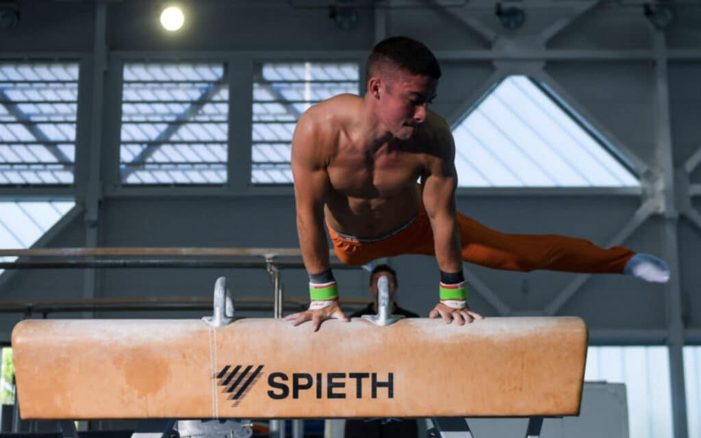 Gymnasts Return to Sport Ireland Campus