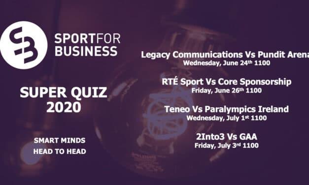 Quarter Final Draw for Sport for Business Super Quiz