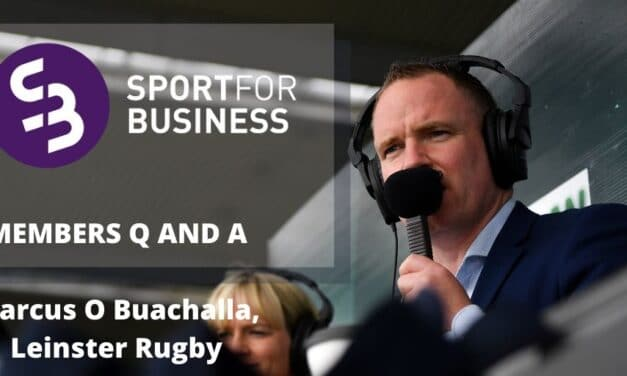 Members Q and A – Marcus O Buachalla, Leinster Rugby