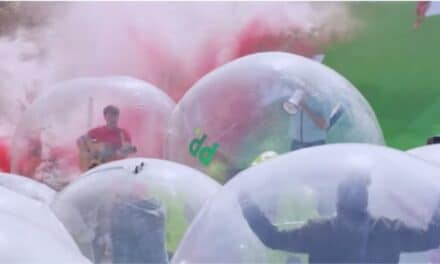 Daily Video – Paddy Power in a Bubble