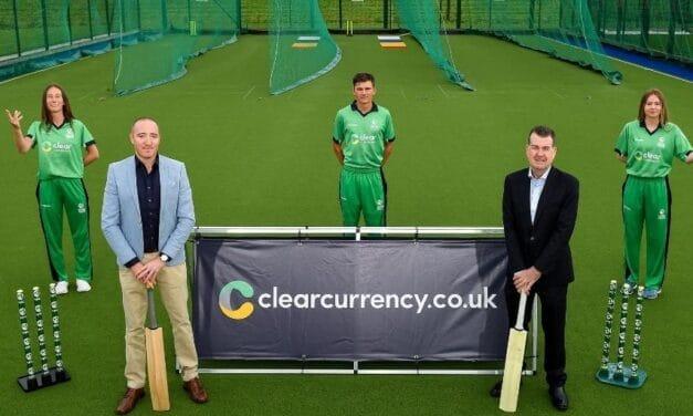 Cricket Ireland Deepen Clear Currency Partnership