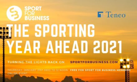 Live at The Sporting Year Ahead this Morning